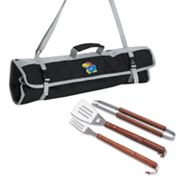 Kansas Jayhawks 4-pc. Barbecue Tote Set
