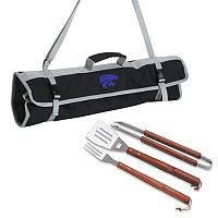 Kansas State Wildcats 4-pc. Barbecue Tote Set