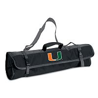 Miami Hurricanes 4-pc. Barbecue Tote Set