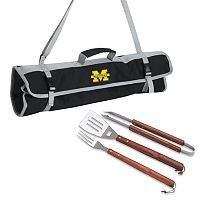 Michigan Wolverines 4-pc. Barbecue Tote Set