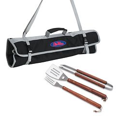 Ole Miss Rebels 4-pc. Barbecue Tote Set