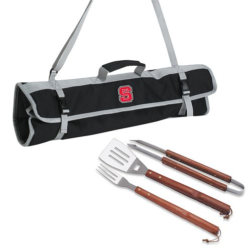 North Carolina State Wolfpack 4-pc. Barbecue Tote Set