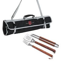 Texas Tech Red Raiders 4-pc. Barbecue Tote Set