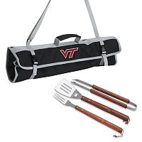 Virginia Tech Hokies 4-pc. Barbecue Tote Set