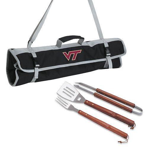 Virginia Tech Hokies 4-pc. Barbecue Tote Set