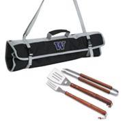 Washington Huskies 4 pc Barbecue Tote Set