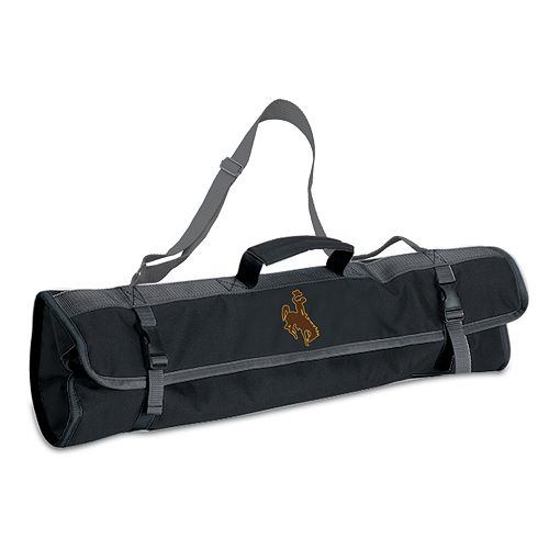 Wyoming Cowboys 4-pc. Barbecue Tote Set