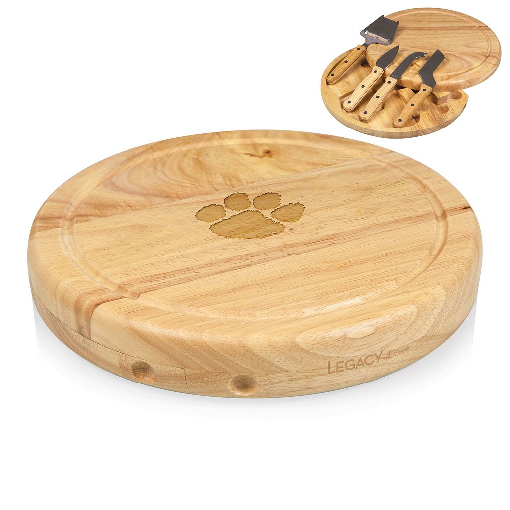 Clemson Tigers 5-pc. Cheese Board Set