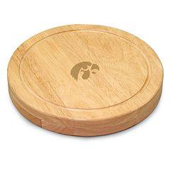 Iowa Hawkeyes 5 pc Cheese Board Set