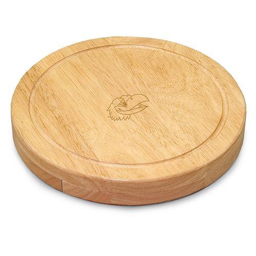 Kansas Jayhawks 5-pc. Cheese Board Set