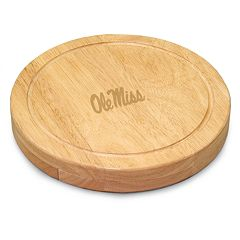 Ole Miss Rebels 5 pc Cheese Board Set
