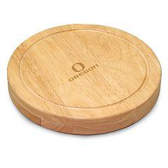 Oregon Ducks 5 pc Cheese Board Set