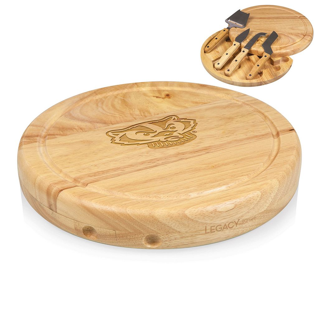 Wisconsin Badgers 5-pc. Cheese Board Set