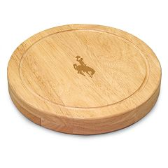 Wyoming Cowboys 5 pc Cheese Board Set