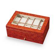 Mele & Co. Burl Oak Watch Case
