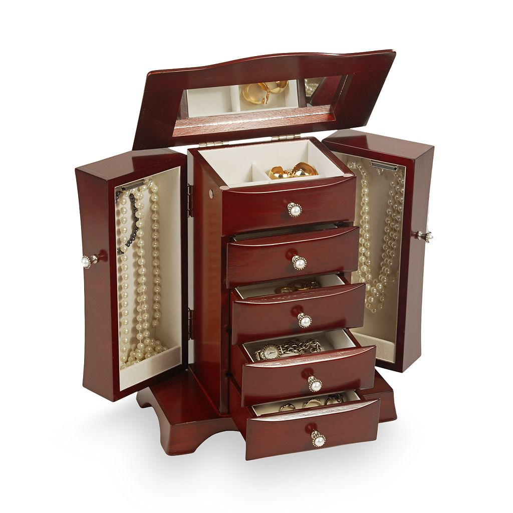 Mele & Co Cherry Jewelry Box