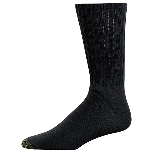Men's GOLDTOE 3-pack Ultra Tec Performance Crew Socks