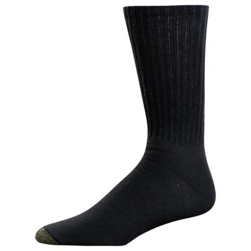 Men's GOLDTOE 3-pack Ultra Tec Performance Crew Socks