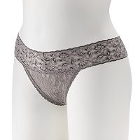 Maidenform One-Size Lace Thong 40118 - Women's
