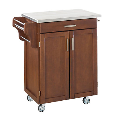 Stainless Steel-Top Cuisine Kitchen Create-a-Cart