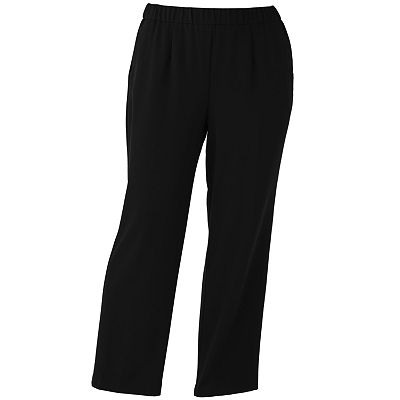 Sag Harbor Pull-On Pants - Women's Plus