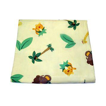 NoJo® Jungle Babies Crib Sheet