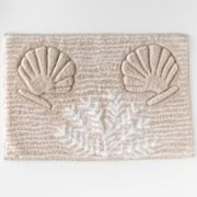 Bacova Captiva Shell Bath Rug