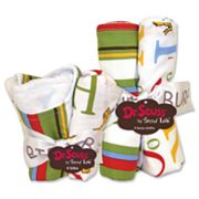 Trend Lab Dr. Seuss ABC 8-pc. Bib and Burp Cloth Set