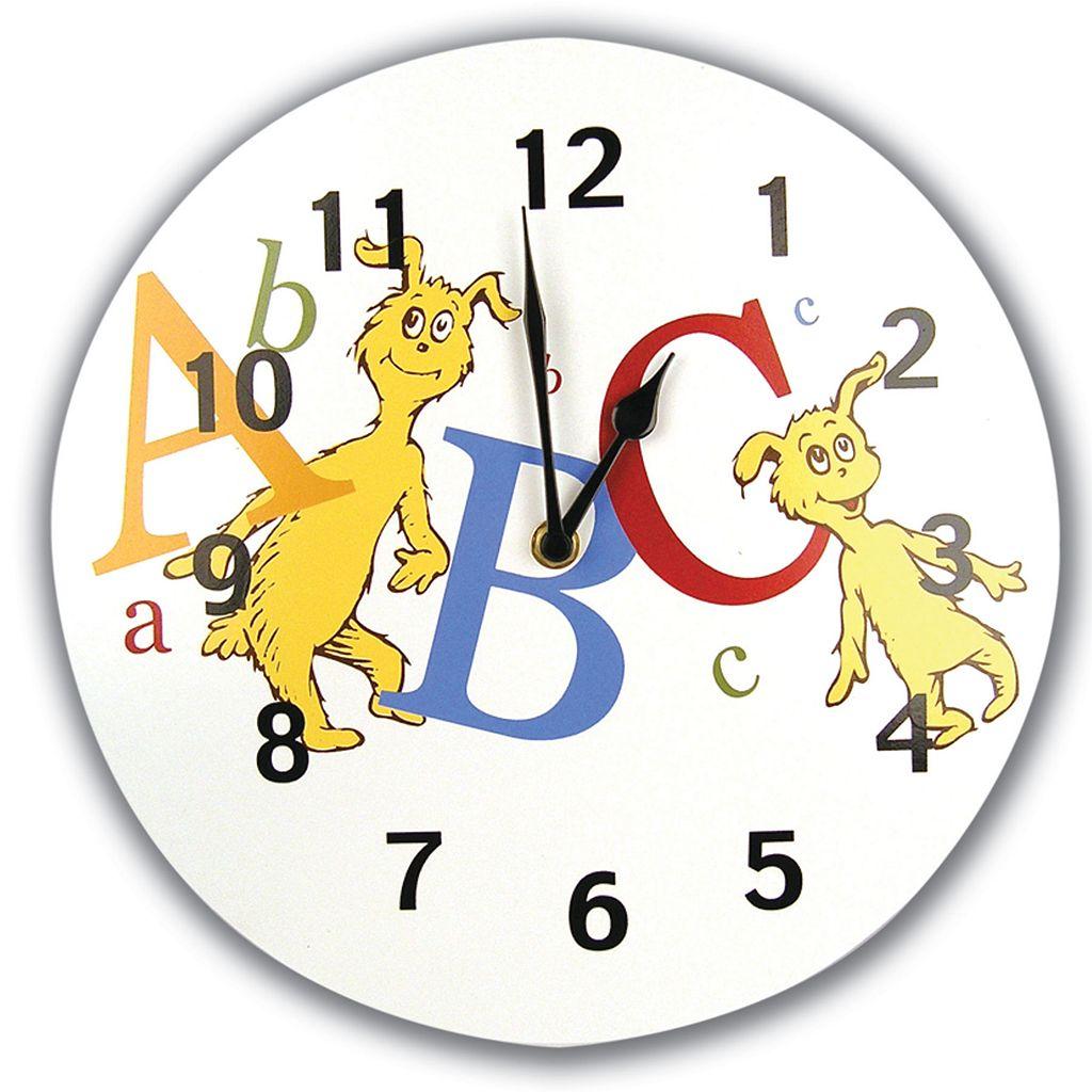 Trend Lab® Dr. Seuss™ ABC Wall Clock