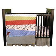Trend Lab Dr. Seuss The Cat in the Hat Crib Bedding Set by