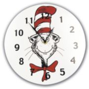 Trend Lab® Dr. Seuss? The Cat in the Hat? Wall Clock