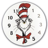 Trend Lab® Dr. Seuss™ The Cat in the Hat™ Wall Clock