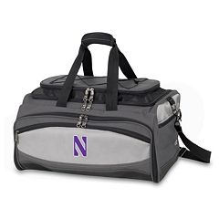 Northwestern Wildcats 6-pc. Charcoal Grill & Cooler Set
