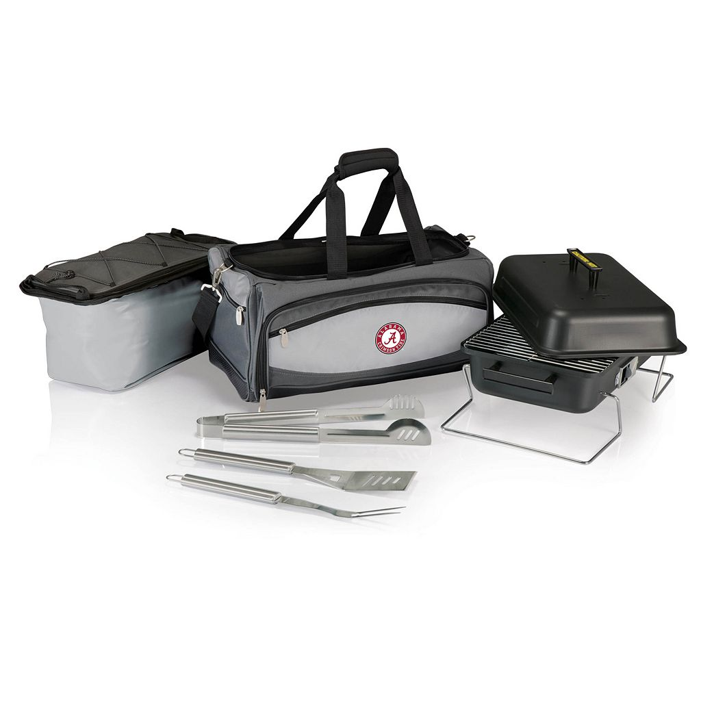 Alabama Crimson Tide 6-pc. Charcoal Grill and Cooler Set