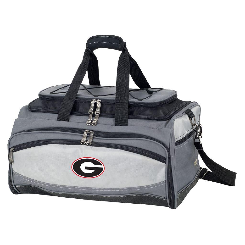 Georgia Bulldogs 6-pc. Charcoal Grill & Cooler Set