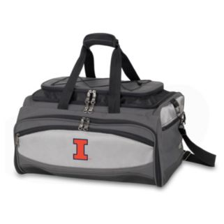 Illinois Fighting Illini 6-pc. Charcoal Grill & Cooler Set