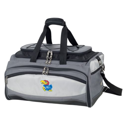 Kansas Jayhawks 6-pc. Charcoal Grill & Cooler Set