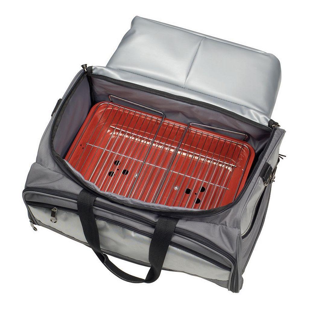 Kansas Jayhawks 6-pc. Charcoal Grill & Cooler Set