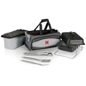 Maryland Terrapins 6-pc. Charcoal Grill & Cooler Set