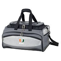 Miami Hurricanes 6-pc. Charcoal Grill & Cooler Set