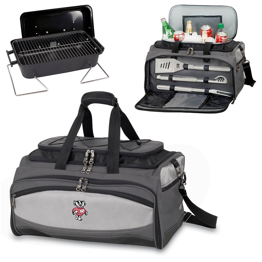 Wisconsin Badgers 6-pc. Grill and Cooler Set