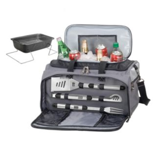 Wyoming Cowboys 6-pc. Charcoal Grill & Cooler Set
