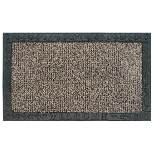 AstroTurf Scraper Filigree Welcome Doormat