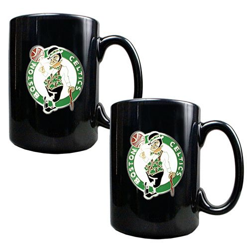 Boston Celtics 2-pc. Mug Set