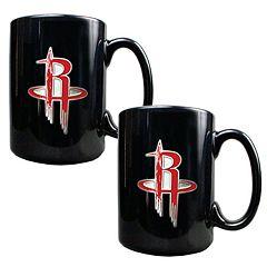 Houston Rockets 2 pc Mug Set