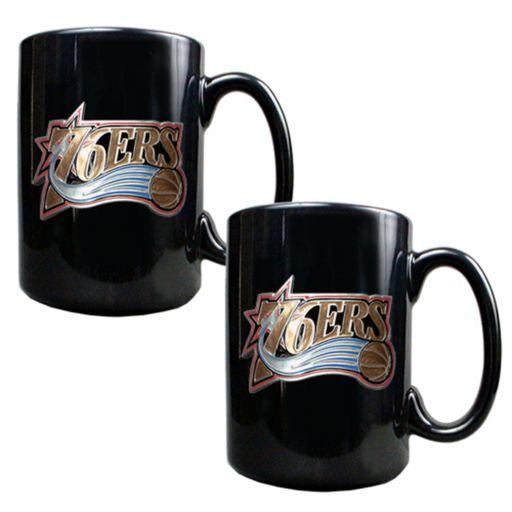 Philadelphia 76ers 2-pc. Mug Set