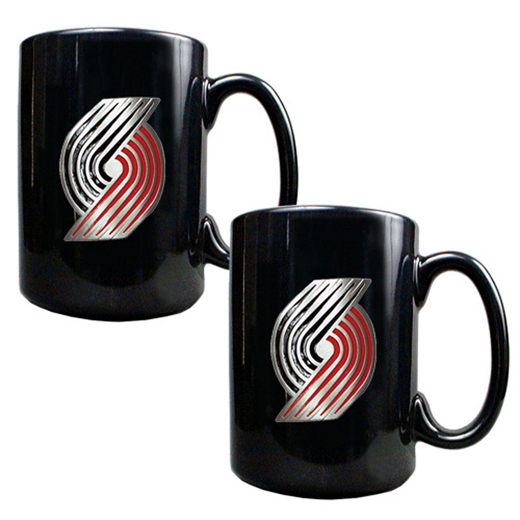 Portland Trail Blazers 2-pc. Mug Set