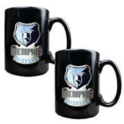 Memphis Grizzlies 2 pc Mug Set