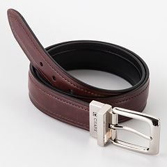 Chaps Reversible Faux-Leather Belt - Boys