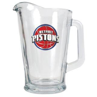 Detroit Pistons Glass Pitcher